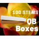 Hot merengue 100 stems QB box