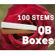 Explorer 100 stems QB box