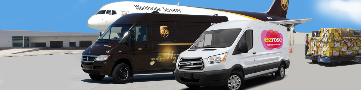 We deliver with UPS